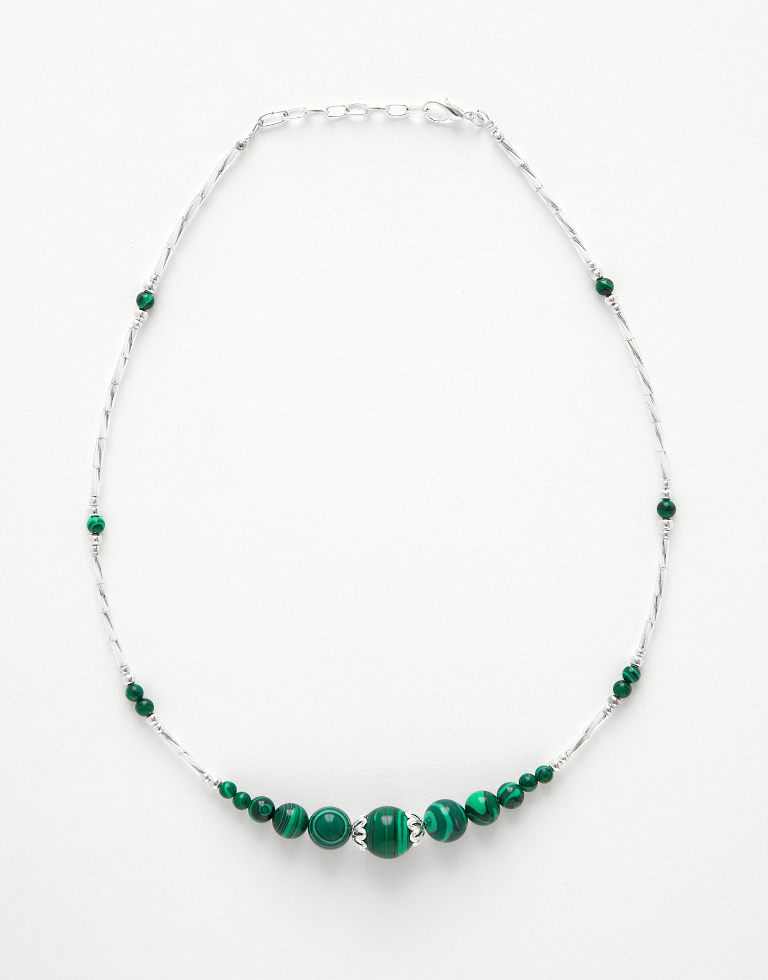 Collier Thalia Malachite