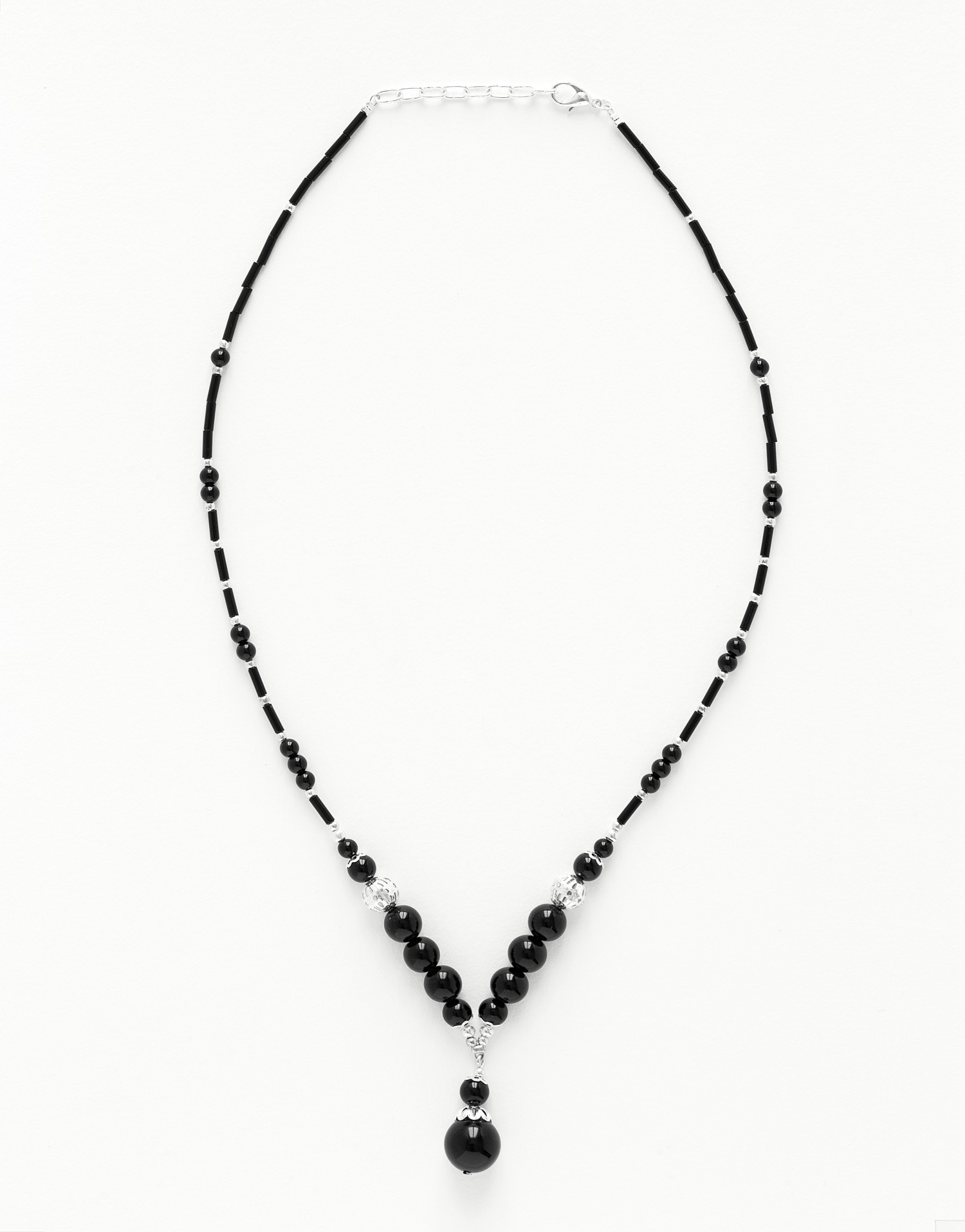 Collier Calliope Onyx noir
