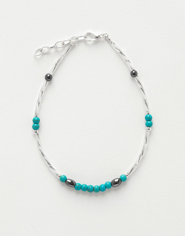 Bracelet de cheville Calliope Thalia Turquoise