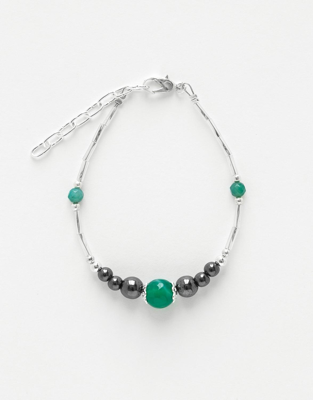 Bracelet Calliope Thalia Agate green