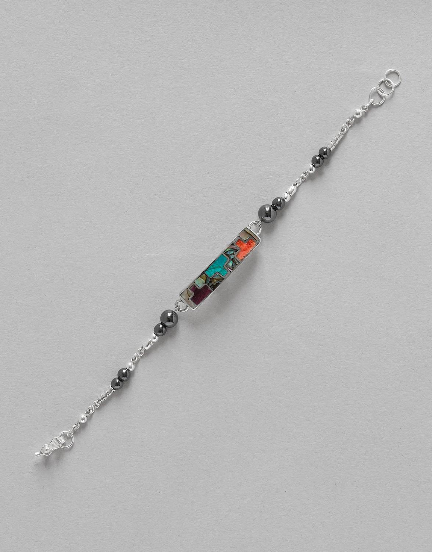 Bracelet Uranis Hématite