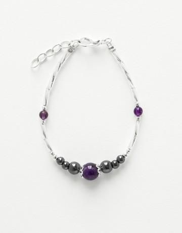 Bracelet Calliope Thalia Améthyste