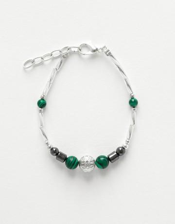 Bracelet Calliope Thalia Malachite