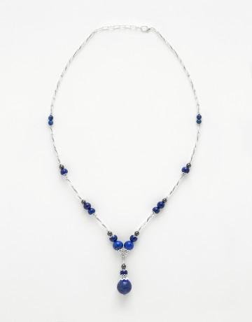 Collier Calliope Lapis-Lazuli