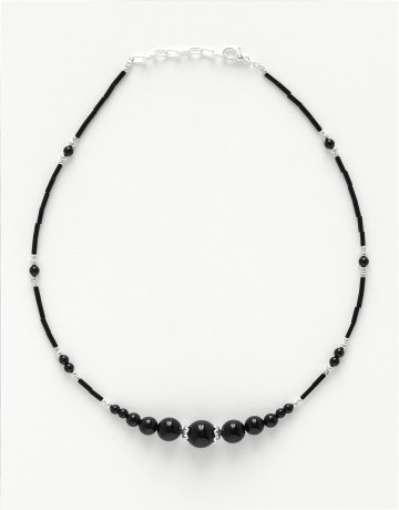 Collier Thalia Onyx noir