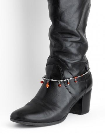 Bracelet de bottes Uranis Cornaline