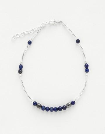 Bracelet de cheville Calliope Thalia Lapis-Lazuli