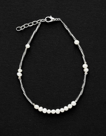 Bracelet de cheville Calliope Thalia Perle