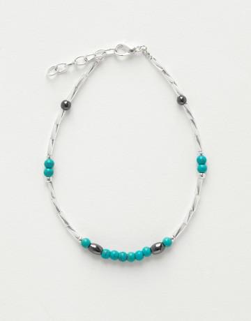 Bracelet de cheville Calliope Thalia Turquine
