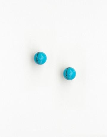 Boucles d'oreilles Uranis Turquoise