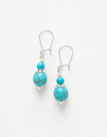 Boucles d oreilles Thalia Turquoise