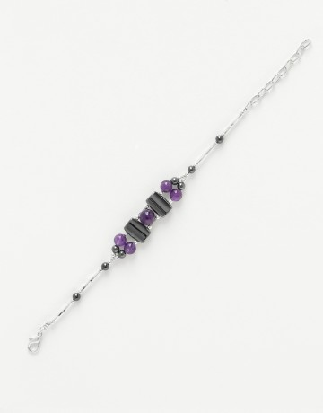 Bracelet Améthyste calliope Thalia