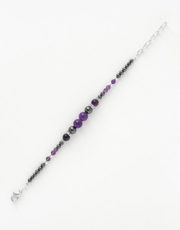 Bracelet Calliope Thalia Amethyste