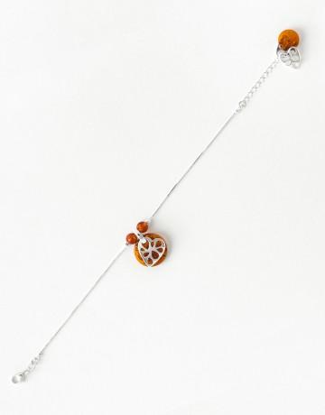 Bracelet Polymnie Ambre