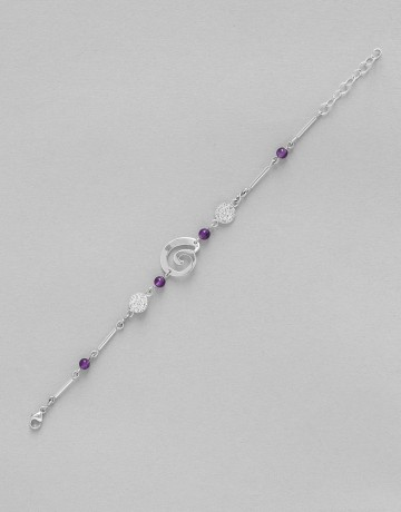 Bracelet Amethyste Uranis