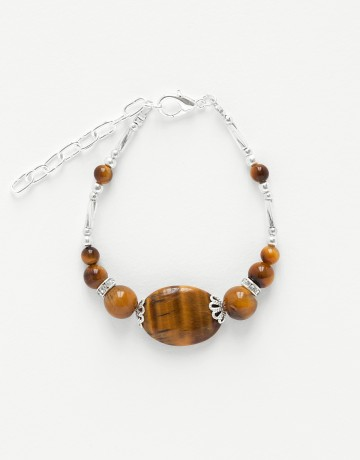 Bracelet Calliope Thalia Oeil-de-tigre