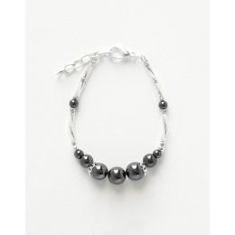 Bracelet Calliope Thalia Hématite