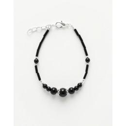 Bracelet Calliope Thalia Onyx noir