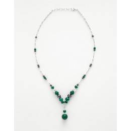 Collier Calliope Malachite