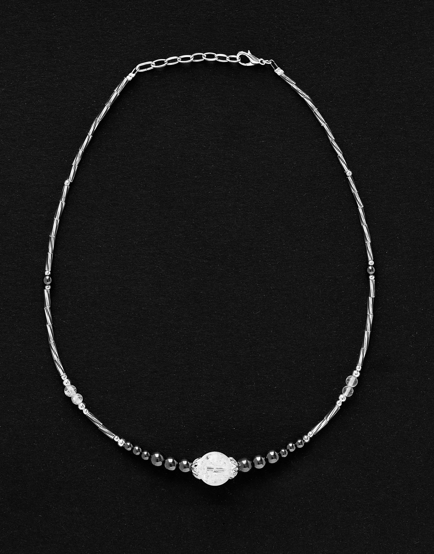 Necklace Thalia Rock crystal