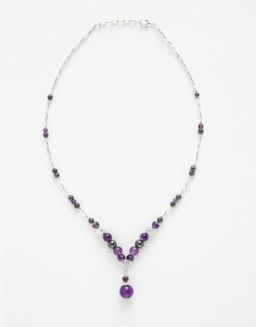 Necklace Calliope Améthyst