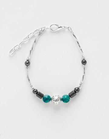Bracelet Calliope Thalia green Agate