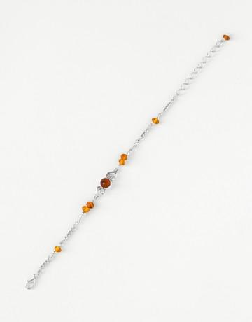 Bracelet Polymnie Amber