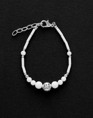 Bracelet Calliope Thalia white Onyx