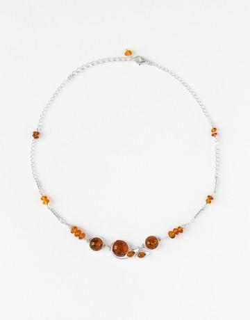 Necklace Polymnie Amber
