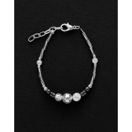 Bracelet Calliope Thalia Rock crystal