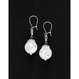 Earrings Calliope Thalia Rock crystal