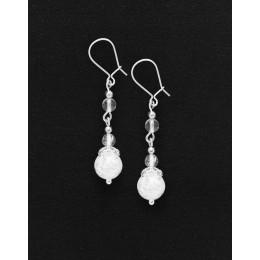 Earrings Thalia Rock crystal